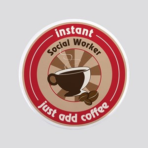 "Social Worker 3.5"" Button"
