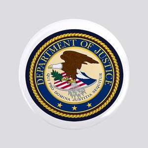 GOVERNMENR SEAL - DEPARTMENT OF JUSTICE! Button