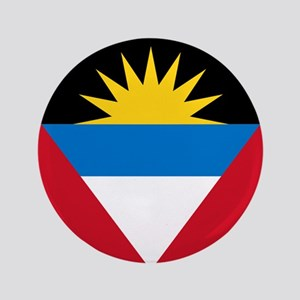 "Flag of Antigua and Barbuda 3.5"" Button"