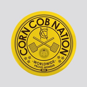 "Corn Cob Nation 3.5"" Button"