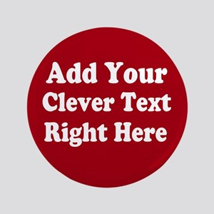 "Add Text Background Red White 3.5"" Button"