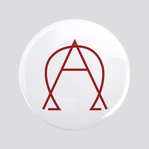 "Alpha Omega - Dexter 3.5"" Button"