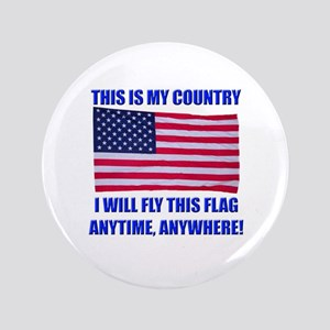 "Flag2a 3.5"" Button"