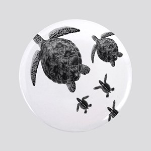 a37309e4d Hawaiian Sea Turtle Tattoo Buttons - CafePress
