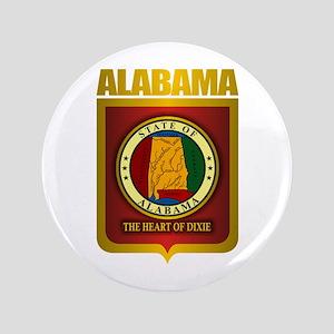 """Alabama Gold"" 3.5"" Button"