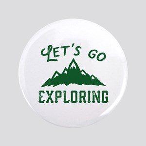 "Let's Go Exploring 3.5"" Button"