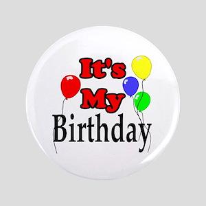 "Its My Birthday 3.5"" Button"