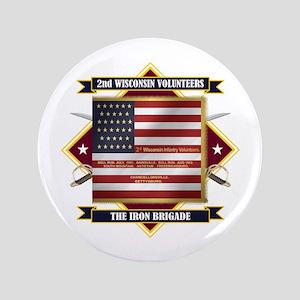 2nd Wisconsin Volunteers Button