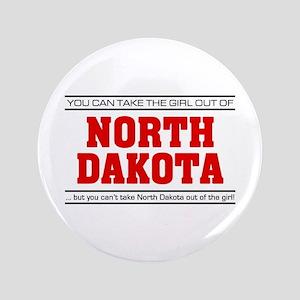"'Girl From North Dakota' 3.5"" Button"