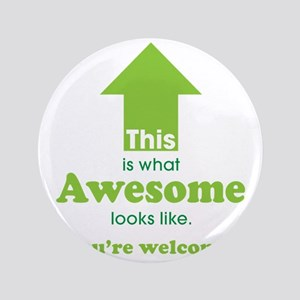"""Awesome_lime 3.5"""" Button"""