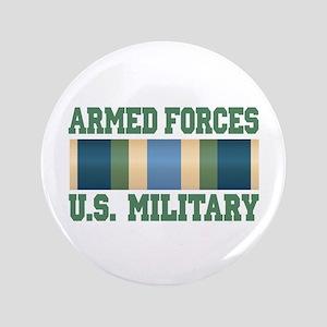 "US Military Service Ribbon 3.5"" Button"
