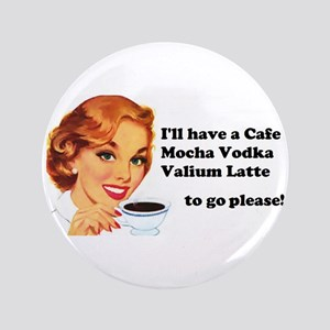 "Vodka Latte ToGo 3.5"" Button"