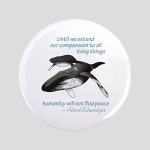 """ALL LIVING CREATURES 3.5"""" Button"""