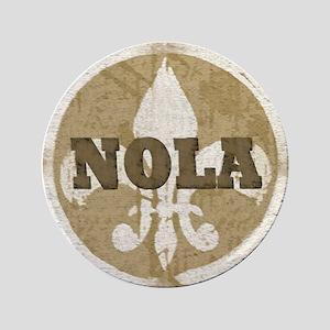 """Nola Gifts: 3.5"""" Button"""