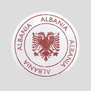 """Vintage Albania 3.5"""" Button"""
