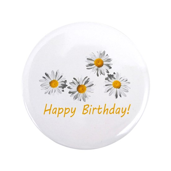 four lovely white daisy flowers happy birthday pho