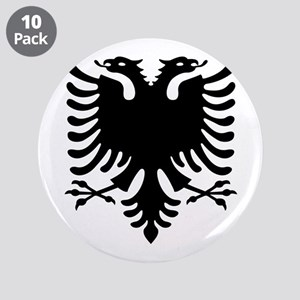 """Double Headed Griffin 3.5"""" Button (10 pack)"""