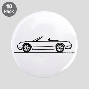 """02 05 Ford Thunderbird Convertible 3.5"""" Button (10"""