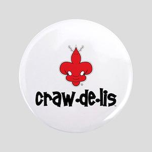 """The ORIGINAL craw-de-lis 3.5"""" Button (100 pack)"""