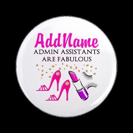 """BEST ADMIN ASST 3.5"""" Button (100 pack)"""