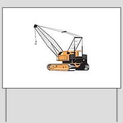Construction Crane Hoist Retro Kids Light T-Shirt by