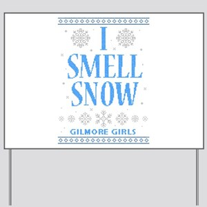 I Smell Snow Ugly Christmas Yard Sign