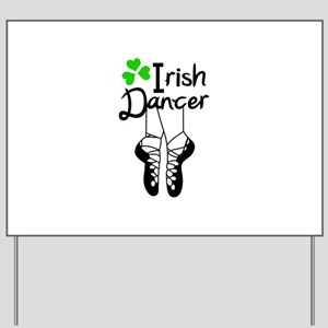 IRISH DANCER Yard Sign