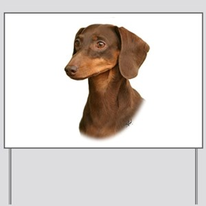 Dachshund 9Y420D-379 Yard Sign