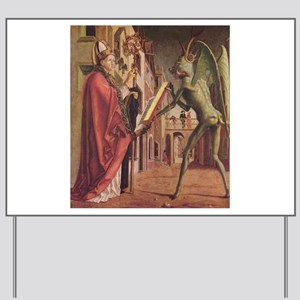 Michael Pacher's Saint Augustine and the Devil Yar