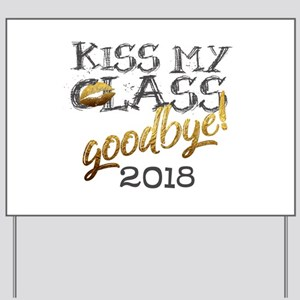 Personalized Funny Grad Kiss my CLASS goodbye 201