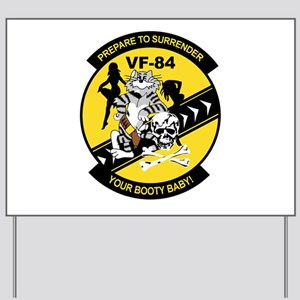 VF-84 Jolly Rogers Yard Sign
