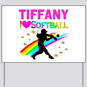 SOFTBALL STAR Yard Sign