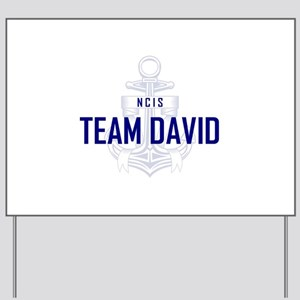 TEAM DAVID Yard Sign