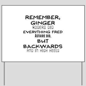 Fred Rogers Yard Signs Cafepress