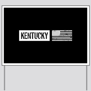 U.S. Flag: Kentucky Yard Sign