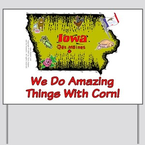 IA-Corn! Yard Sign