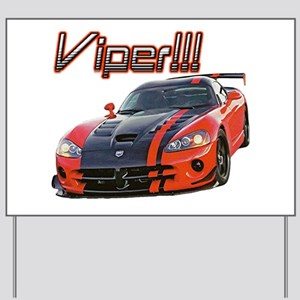 """Dodge Viper"" Yard Sign"