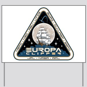 Europa Clipper Logo Yard Sign