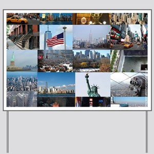 New York Pro Photo Montage-Stunning! Yard Sign