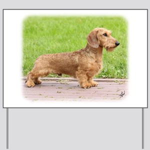 Dachshund 9Y426D-178 Yard Sign