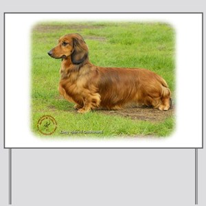 Dachshund 9R086D-033 Yard Sign