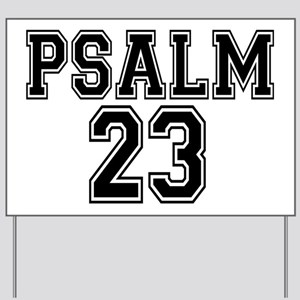 Psalm 23 Bible Verse Yard Sign