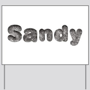 Sandy Wolf Yard Sign