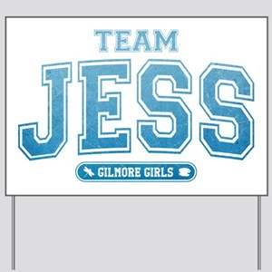 Team Jess - Gilmore Girls Yard Sign