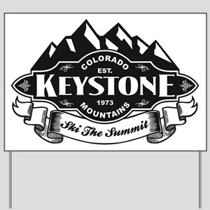 Keystone Mountain Emblem Yard Sign