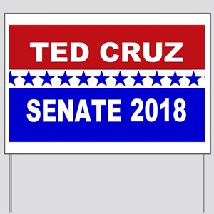 Ted Cruz Senate 2018 Yard Sign