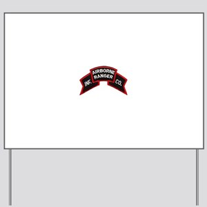 Infantry Airborne Yard Sign