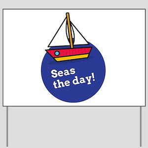 Funny Sailing Quotes Yard Signs - CafePress