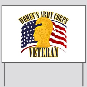 WAC Veteran Yard Sign