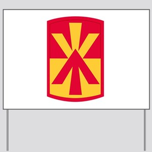 11th air defense artillery brigade Yard Sign